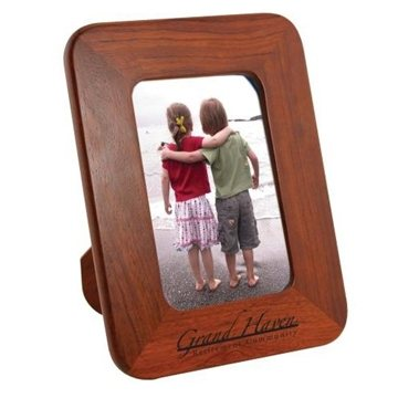 4'' x 6'' Solid Wood Photo Frame With Easel Back