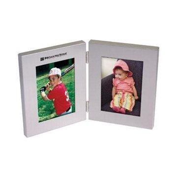 Aluminum Bi-Fold Photo Frame