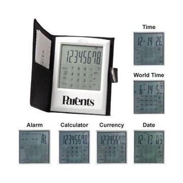Promotional Touch Screen World - Class Calculator with Case