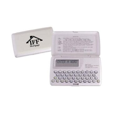Spell Checker with Thesaurus and Alarm Clock