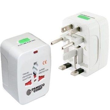 Universal Travel Adaptor Plug with Storage Pouch