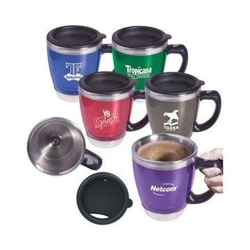 16-oz. Acrylic/Stainless Steel Java ''Stir'' Mug