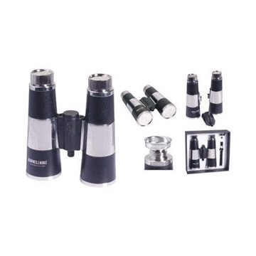 Promotional 12- oz. Dual - Flask Binoculars with Gift Box