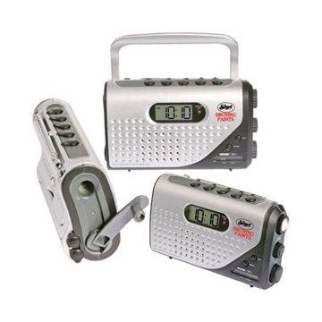 Promotional Dynamo Self - Powered Alarm Clock Radio