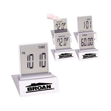 Promotional Multi - Function LCD Desk Alarm Clock