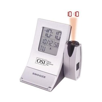 Promotional Radio - Controlled Aluminum Projector Alarm Clock