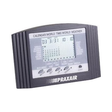 Promotional World Weather Clock and Calendar