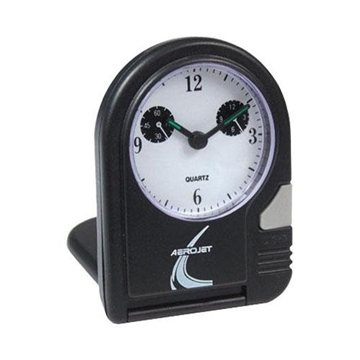 Promotional Folding Travel Alarm Clock with Lighted Dial
