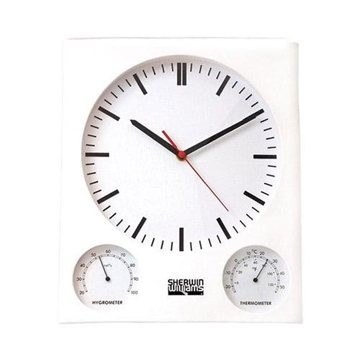 Promotional Wall Clock / Thermometer / Hygrometer