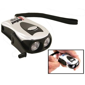 Promotional Pocket Dynamo Dual - LED Flashlight