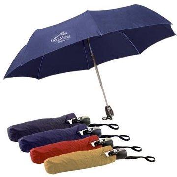 43'' Auto-Open and Close Mini Umbrella with Case.