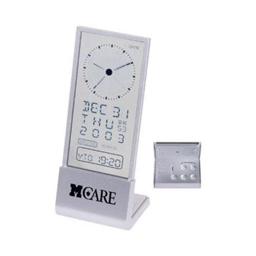 See-Through-Display Desk Alarm Clock