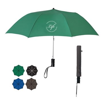 36'' Arc Telescopic Folding Automatic Umbrella