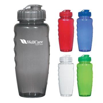 Poly-Clear™ 30 oz Gripper Bottle