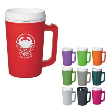 22 oz Thermo Insulated Mug