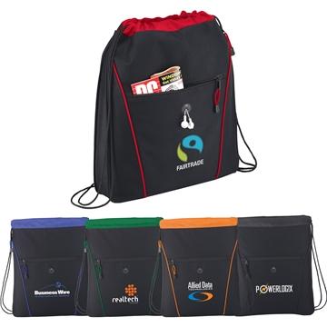 The Raven Drawstring Cinch Backpack