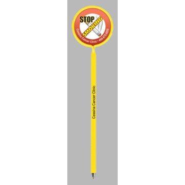 Promotional Stop Smoking - Billboard InkBend Standard(TM) Shaped Pens
