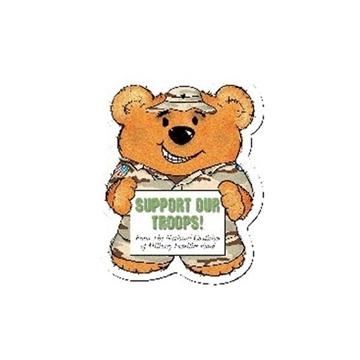 Promotional Army Bear (Brown) - Design - A - Bear(TM)