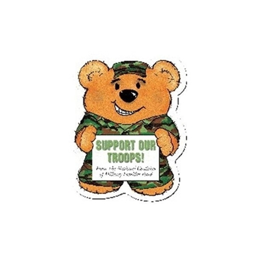 Promotional Army Bear (Green) - Design - A - Bear(TM)