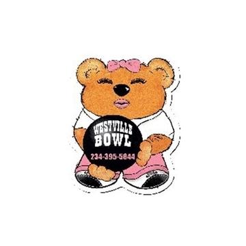 Promotional Bowling Bear (Female) - Design - A - Bear(TM)
