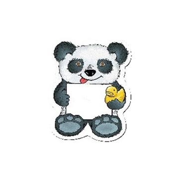 Promotional Panda Bear w / Rubber Ducky - Design - A - Bear(TM)