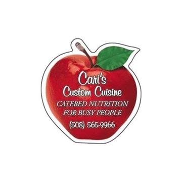 Promotional Apple 2 - Die Cut Magnets