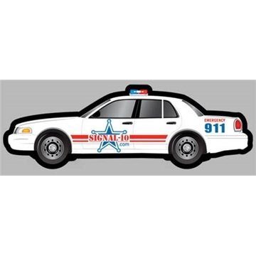 Promotional Police Car - Die Cut Magnets