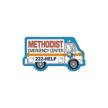Promotional Ambulance - Die Cut Magnets