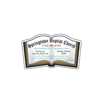 Promotional Bible - Die Cut Magnets