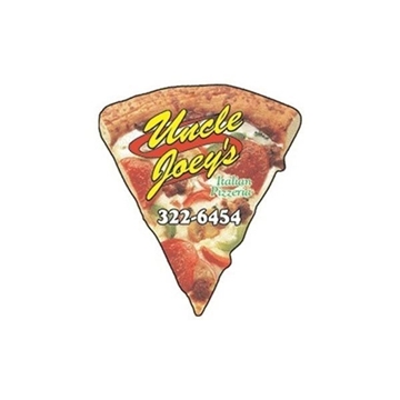 Promotional Pizza Slice - Die Cut Magnets