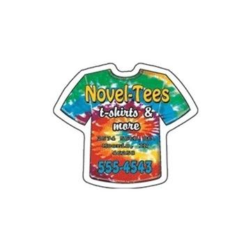 Promotional T - Shirt - Die Cut Magnets