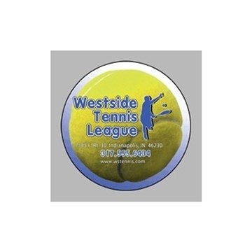 Promotional Tennis Ball - Die Cut Magnets