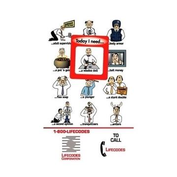 Promotional Frame - of - Mind(TM) Gator Mag(TM) - Today I Need
