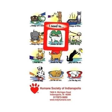 Promotional Frame - of - Mind(TM) Gator Mag(TM) - Dog And Cat