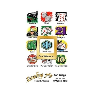 Promotional Frame - of - Mind(TM) Gator Mag(TM) - Casino