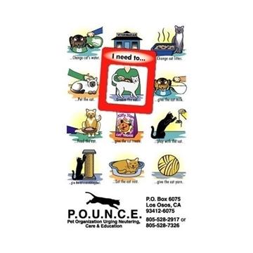 Promotional Frame - of - Mind(TM) Gator Mag(TM) - Cat
