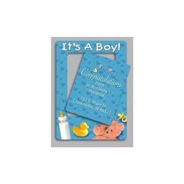 Promotional Its A Boy - Picture Frame Magnets