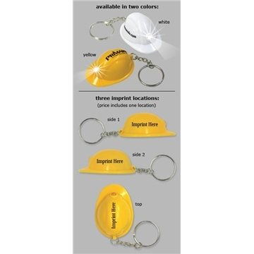 Mini hat shape, flashlight key ring