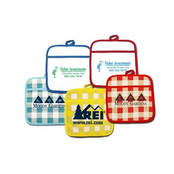Promotional Therma - Grip Pocket Pot Holders