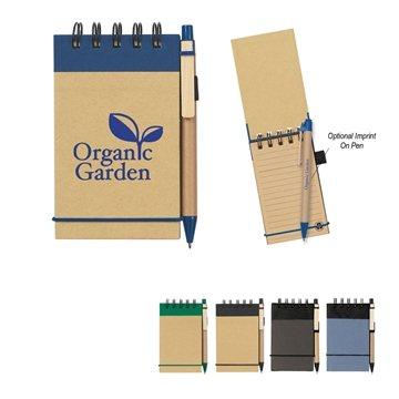 Eco-Inspired Spiral Jotter & Pen