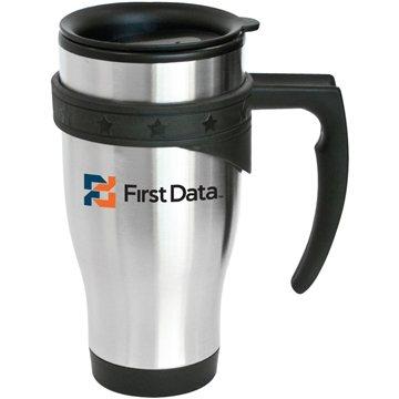 Promotional Brea - 16 oz Stainless Steel Travel Mug