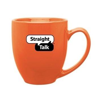 15 oz Bistro Mug - orange