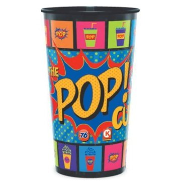 Promotional 44 oz reusable frosted clear cups