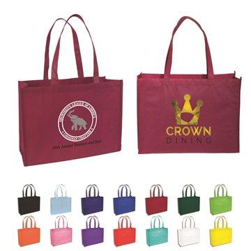 Custom Non Woven Standard Tote Bag 16'' X 12''