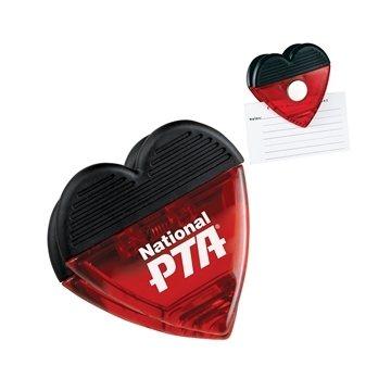 Heart Magnetic Memo Clip