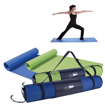 1/8'' Thick 68''L X 24''W Easy Storage On-The-Go Yoga Mat