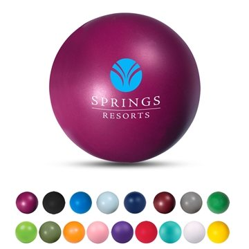 Custom Round Stress Ball With Multi Color Choices