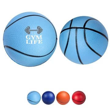 Polyurethane Basketball Stress Reliever