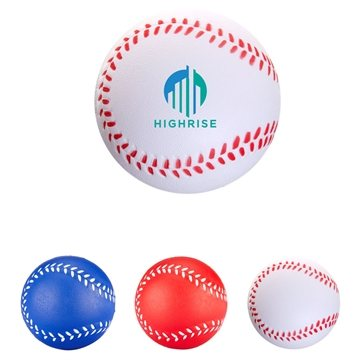 Handcrafted Polyurethane Baseball Stress Reliever