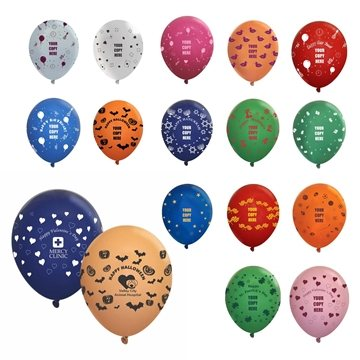 11'' Wrap-Fas. Opaque Balloon